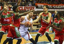 Gaziantep Basketbol -  Pınar Karşıyaka: 74-73