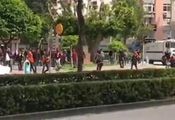 Adanada derbi öncesi olay çıktı