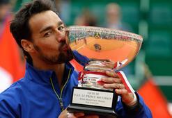 Monte Carloda şampiyon Fognini