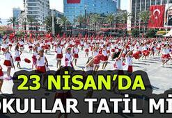 23 Nisan hangi güne denk geliyor 23 Nisan resmi tatil mi