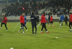 Erzurumsporda Antalyaspora hazırlanıyor
