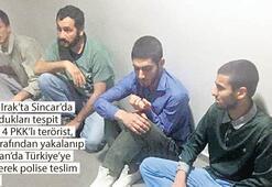MİT, dört PKK'lıyı Sincar'dan getirdi