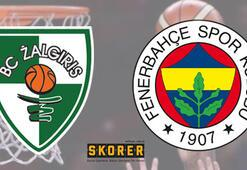Zalgiris Kaunas-Fenerbahçe Beko: 57-66