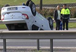 TEMde zincirleme kaza; trafik durma noktasına geldi