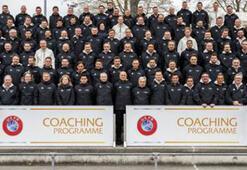 TFF heyeti, UEFA Pro Lisans Değişim Programına katıldı