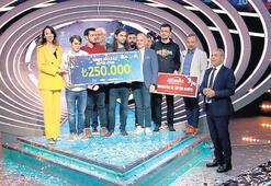 Büyük Oyun'da şampiyona 250 bin TL'lik ödül