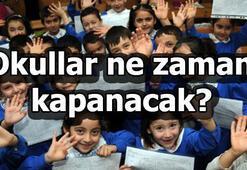 2018-2019 Eğitim döneminde okullar ne zaman kapanacak