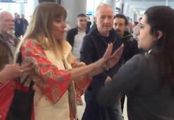 Havalimanında hakarete uğramıştı O görevli...