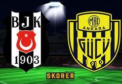 Beşiktaş - Ankaragücü: 4-1