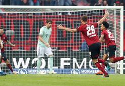 Bayern Münih, Nürnberg deplasmanından 1 puanla döndü