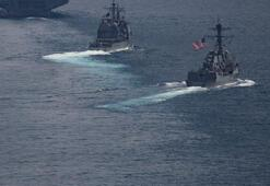 ABD savaş gemileri Tayvan Boğazından geçti