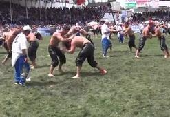 Kumluca yağlı pehlivan güreşlerinde başpehlivan Ali Gürbüz oldu