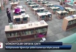 Öğretmenin darp yalanını güvenlik kamerası ortaya çıkardı