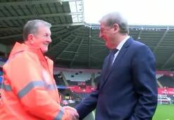 Roy Hodgson ve benzeri karşı karşıya