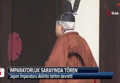 Japon İmparatoru Akihito tahtını devretti