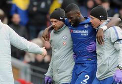 Chelseade Rüdiger şoku Sezonu kapadı...
