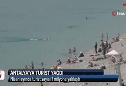 Antalyaya Nisanda 1 milyon turist