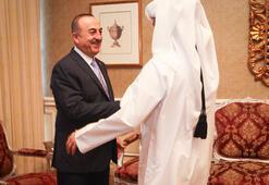 Çavuşoğlundan Katarda diplomasi trafiği
