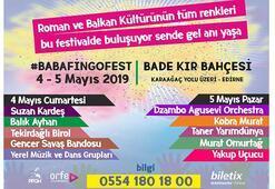 Baba Fingo Fest 4-5 Mayısta Edirnede