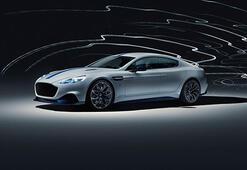 Aston Martinin ilk elektrikli modeli Rapide E üretime hazır