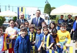 Fenerbahçede Atatürkün ziyareti ve kulübün kuruluş yıl dönümü kutlandı