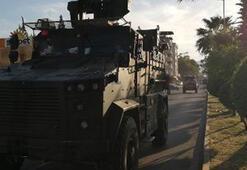 Suriye sınırına komando ve askeri araç sevkiyatı