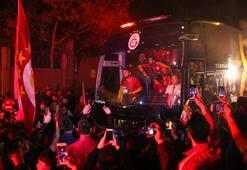 Galatasaraya Floryada coşkulu karşılama