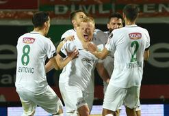 Aytemiz Alanyaspor - Atiker Konyaspor: 2-4