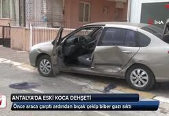 Antalyada eski koca dehşeti