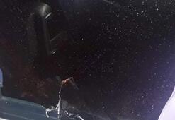 Konyasporlu taraftarları taşıyan otobüslerin camları kırıldı