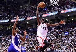 Toronto Raptorstan 36 sayı fark