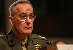 ABD GenelKurmay Başkanı Dunford açıkladı: Cuma günü istihbaratı aldığımızda...