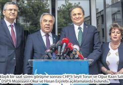 CHP'den DSP'ye 'İstanbul seçimi' ziyareti... Teklif yok, beklenti var