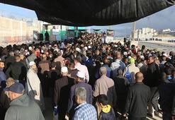 Mescid-i Aksa hasreti binlerce Filistinliyi yollara döktü