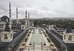 Başkentin üçüncü büyük camisinin resmi açılışı yapıldı
