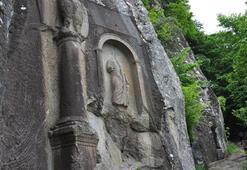 Tarihi anıtın bulunduğu bölgede şoke eden görüntü