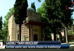 Lazerli 'tarih bekçileri'
