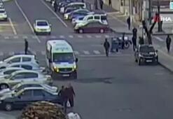 Dikkatsiz sürücülerin kazaları MOBESE kamerasında