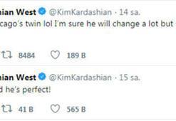 Kardashian-Kanye Westin dördüncü bebeği doğdu