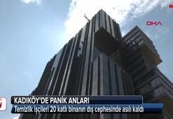 20 katlı binada panik anları