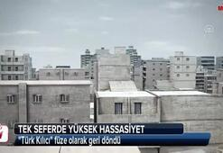 Türk Kılıcı füze olarak geri döndü