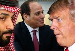 Trumpla ilgili bomba iddia Prens Selman ve Sisi ikna etmiş...