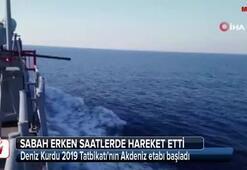 Deniz Kurdu 2019 Tatbikatının Akdeniz etabı başladı