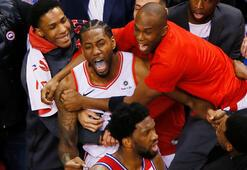 Toronto son saniye basketiyle finalde