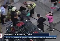 İstanbulda korkunç ölüm