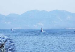 Denizde güç gösterisi