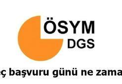 DGS başvuruları bitti mi 2019 DGS ne zaman uygulanacak