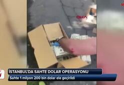İstanbulda sahte dolar operasyonu