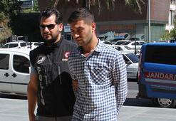 4 kilogram esrarla yakalanan garson tutuklandı