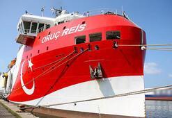 Oruç Reis Araştırma Gemisi için sismik operasyon ve işbaşı eğitimi hizmeti alınacak